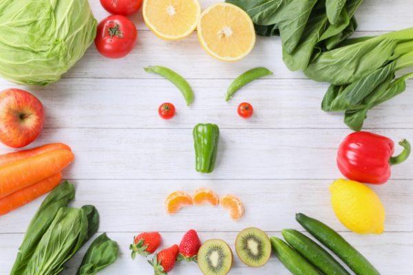 起こる野菜