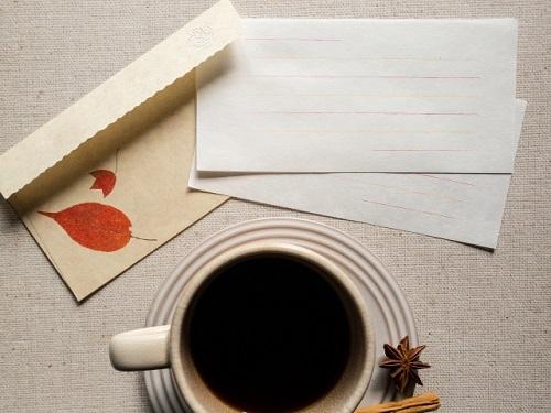コーヒーと手紙