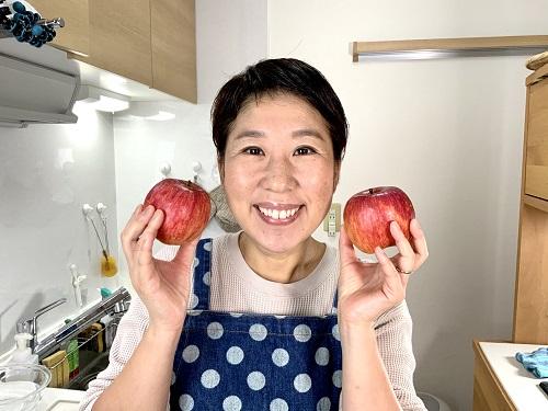 旬のリンゴを食べよう