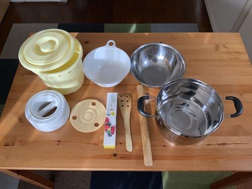 味噌作りの道具