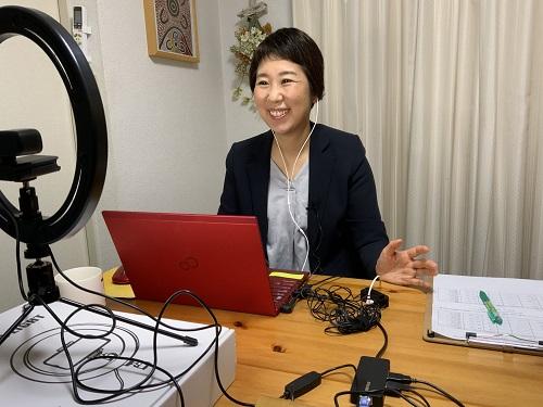 小山田明子のオンラインセミナー